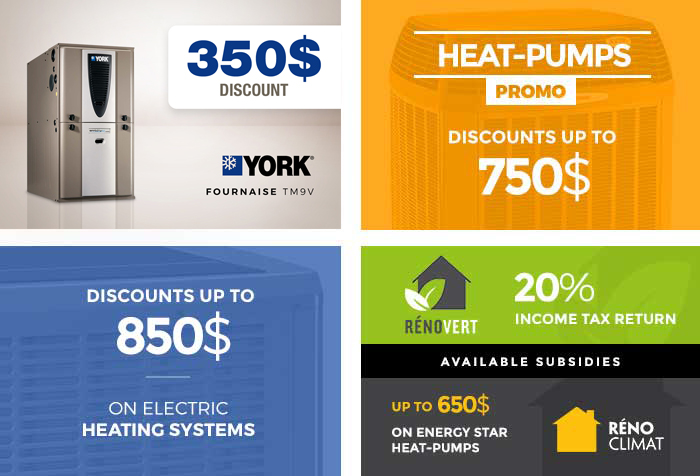 Heat Pump Promotions Gatineau Ottawa